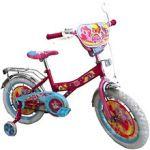 Велосипед двухколесный 7Toys со звонком, зеркалом, с вставками в колесах (141208)