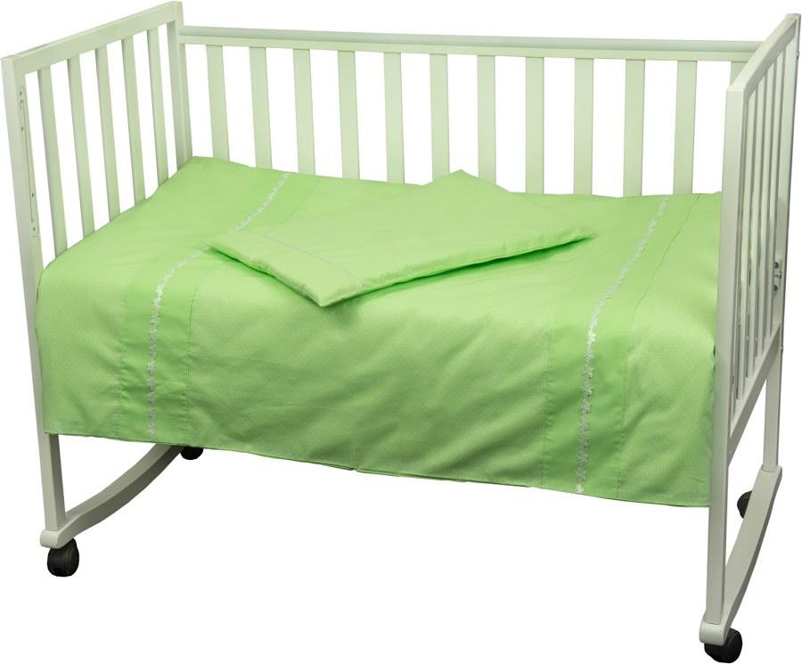 Купить Детское постельное белье ТМ РУНО 60*120 (932ВГУ_Салатовий)