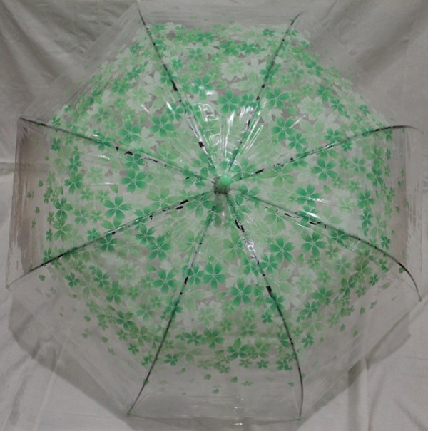 Купить Зонт-трость Mario 'Сакура' 84 см, зеленый (308з)
