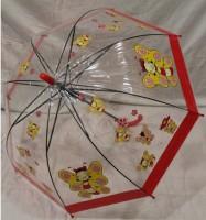 Детский зонт грибком RST 74 см (красный)