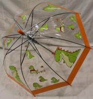 Детский зонт грибком RST 74 см (оранжевый)