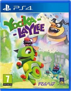игра Yooka-Laylee PS4
