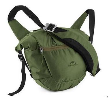 Купить Сумка на плечо NatureHike 8 л, dark green (NH16B003-D)