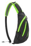 Рюкзак-сумка NatureHike 'Chest Bag' 6 л, black&green (NH23X008-K)