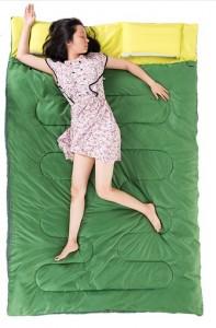 фото Спальный мешок NatureHike 'Double Sleeping Bag with Pillow' indigo (SD15M030-J) #5