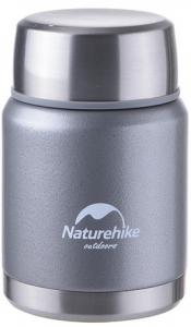 Термос для пищи NatureHike 350 мл, grey (NH60A070-B)