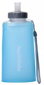 Фляга NatureHike 'Soft bottle' 0,75л blue&grey (NH61A065-B)