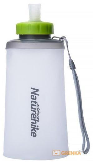 Купить Фляга NatureHike 'Soft bottle' 0, 75л white&green (NH61A065-B)