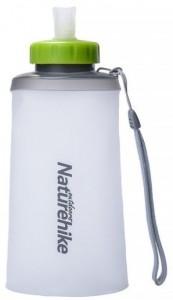 Фляга NatureHike 'Soft bottle' 0,75л white&green (NH61A065-B)