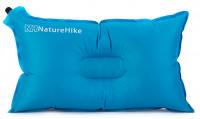 Самонадувающаяся подушка NatureHike 'Automatic Inflatable Pillow' blue (NH15A002-L)