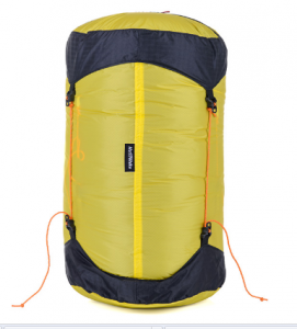 Компрессионный мешок NatureHike UL-Ultralight M, yellow/black (NH16S668-M)