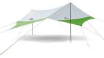 Тент кемпинговый NatureHike 210T polyester 5.2х4.6 м, green/grey (NH16T013-S)