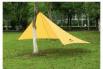 Тент туристический NatureHike 210T polyester 4,25х2.55м 0,66 кг, orange (NH15T003-M)