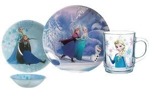 Детский набор Luminarc 'Disney Frozen' 3 пр. (L0872)