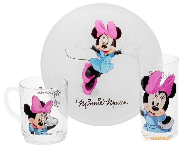 Детский набор Luminarc Disney Minnie Colors 3 пр. (H5321)