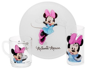 Детский набор Luminarc 'Disney Minnie Colors' 3 пр. (H5321)