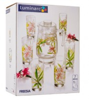 Набор для напитков Luminarc 'Amsterdam Freesia' 7пр. (N0823)