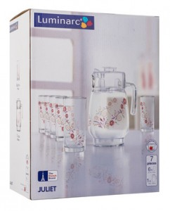 Набор для напитков Luminarc 'Amsterdam Juliet' 7пр. (N0825)