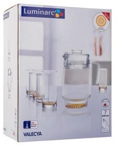 Набор для напитков Luminarc 'Valecya' 7пр. (L5799)