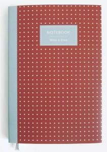 Блокнот Write-and-Draw. Red dots (AA-0002506)