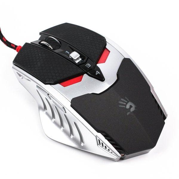 Купить Мыши, Мышь игровая A4 Tech Bloody TL80 USB (Black/Silver), A4Tech