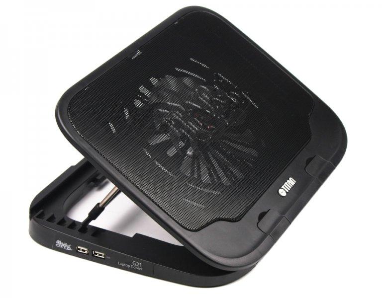 Подставка для ноутбука Titan 2xUSB hub (TC-G21T)