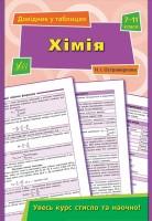 Книга Довідник у таблицях. Хімія. 7-11 класи