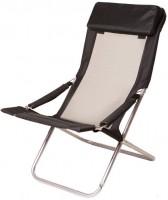 Шезлонг с подушкой Time Eco 'Горизонт', черный (4820183480026)