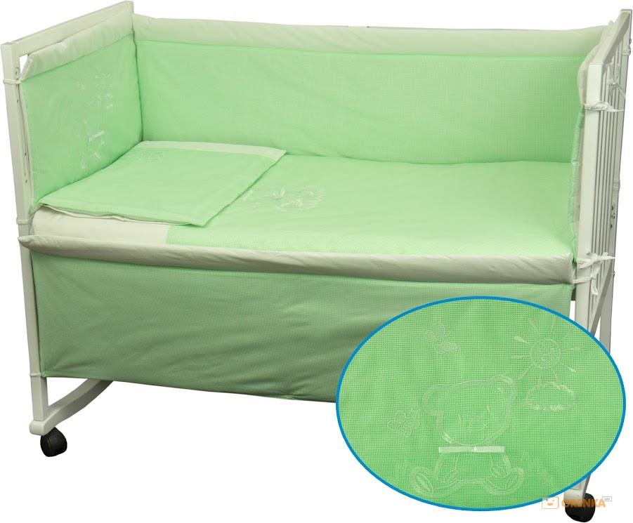 Купить Детское постельное белье ТМ РУНО 60*120 (977ВУ_Салатовий)