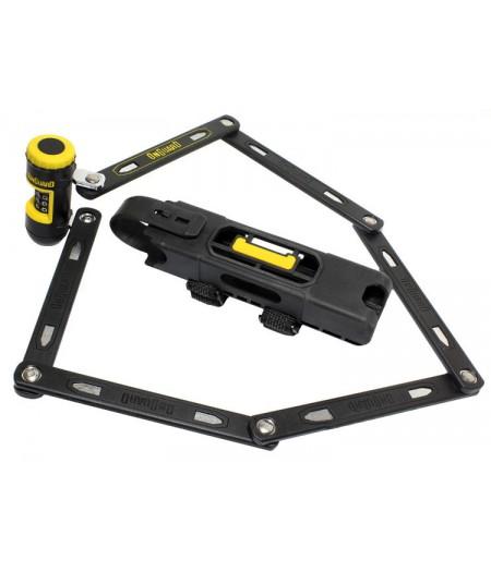 Купить Велозамок складной ONGUARD REVOLVER Link Plate X4P Combo (LCK-11-92)