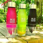 фото Бутылка H2O water bottles, оранжевая, 650 мл #8