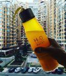 фото Бутылка H2O water bottles, оранжевая, 650 мл #5