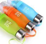 фото Бутылка H2O water bottles, оранжевая, 650 мл #12