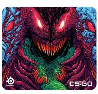 Игровая поверхность SteelSeries QcK + CS: GO Hyper Beast Edition (63800)
