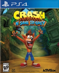 игра Crash Bandicoot N. Sane Trilogy PS4