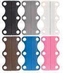 Подарок Магниты для шнурков Zubits Magnetic Shoelaces 35 мм серые