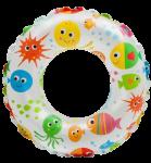 Круг детский надувной Intex 'Морские жители' 59241-2