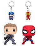 фигурка Набор фигурок Funko Pop!  4-Pack Marvel: Captain America CW