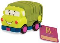 Машинка инерционная Battat 'Забавный автопарк' эко-мусоровоз (BX1498Z)