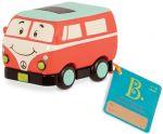 Машинка инерционная Battat 'Забавный автопарк' ретро-автобус (BX1502Z)