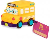 Машинка инерционная Battat 'Забавный автопарк' школьный автобус (BX1495Z)