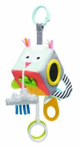 Развивающая игрушка-кубик Taf Toys 'Веселые зверушки' (12185)