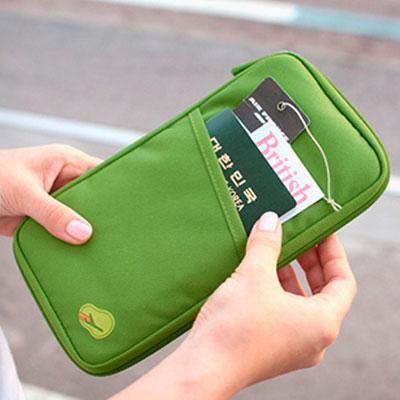 Купить Органайзер для путешествий Avia Travel Bag (самолетик принтом) салатовый, China Factory