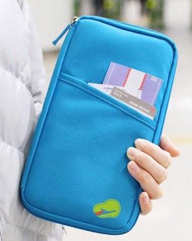 Купить Органайзер для путешествий Avia Travel Bag (самолетик принтом) голубой, China Factory