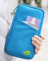 Подарок Органайзер для путешествий Avia Travel Bag (самолетик принтом) голубой