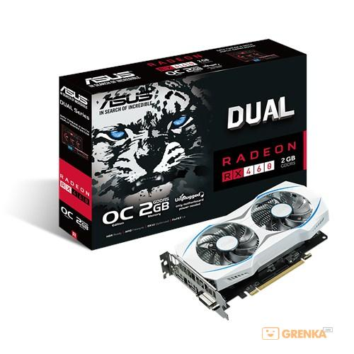 Видеокарта MSI Radeon RX 460 2GB Gaming OC (RX_460_2G_OC)