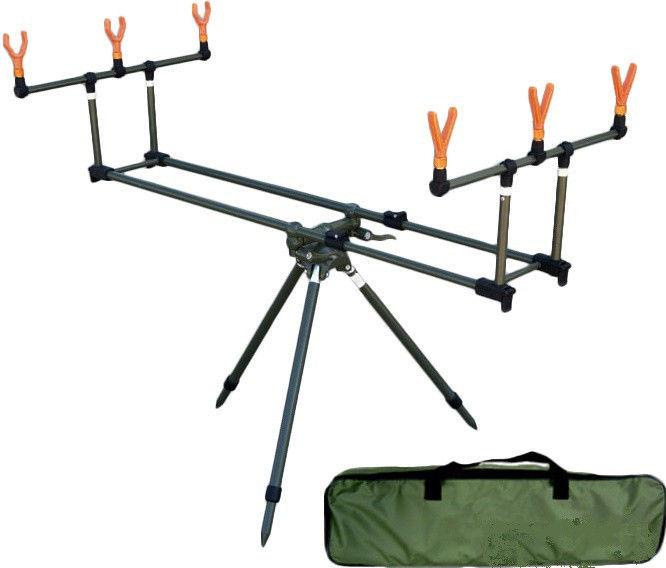 Купить Подставка Lineaeffe Rod-pod Set для трех удилищ + чехол