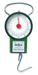 Весы ручные механические Lineaeffe 22 круглые + рулетка Classic (7599905)