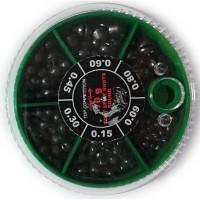 Набор грузов (дробь) Lineaeffe Team Specialist Soft Split Shots 70gr (8151070)
