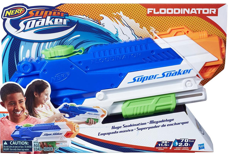 Купить Водяной бластер Hasbro Нерф 'Супер Сокер. Флудинатор' (B8248)